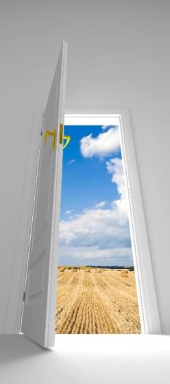 Standing At The Open Door