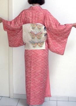 Edo Komon kimono type.