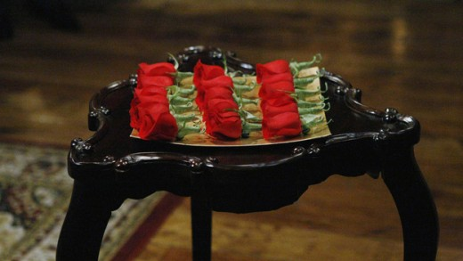 """The roses that """"The Bachelorette"""" would have to handle each week."""