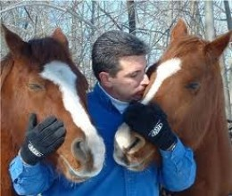The Horses love Him, He loves the Horses
