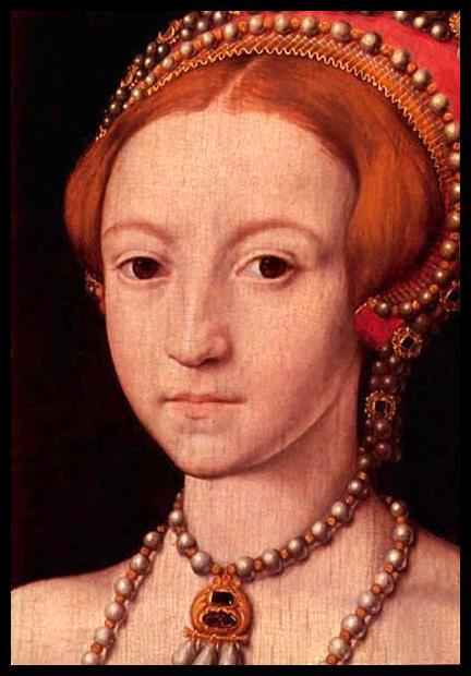 A young Queen Elizabeth I