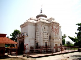 The main temple of Ekteswar