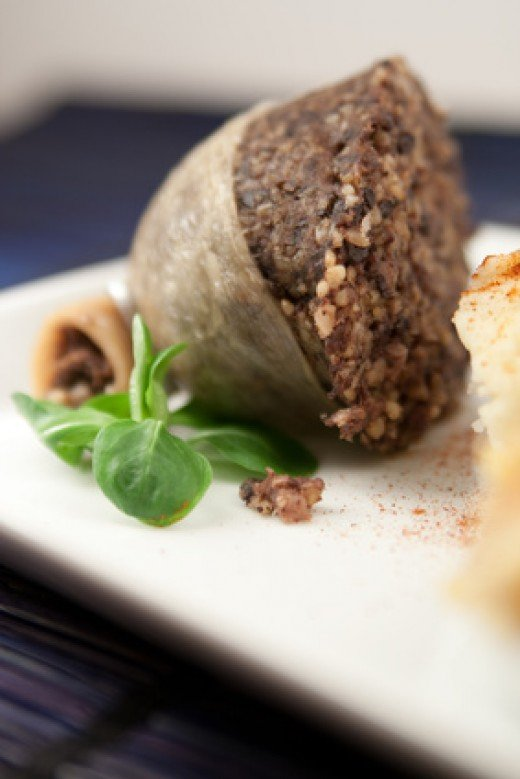 Haggis, traditional Scottish dish. Image:  Christelle - Fotolia.com
