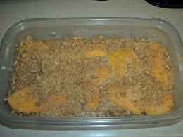 Mango Float Ready to be Chilled