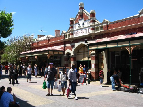 One of the entrances to the wonderful Fremantle market