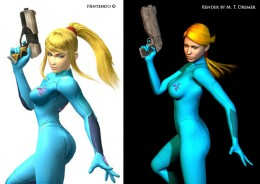 My tribute to Samus Aran.