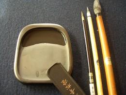 Inkstone and Brush By Kanko*