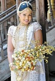 Sri Lankan Wedding Saree