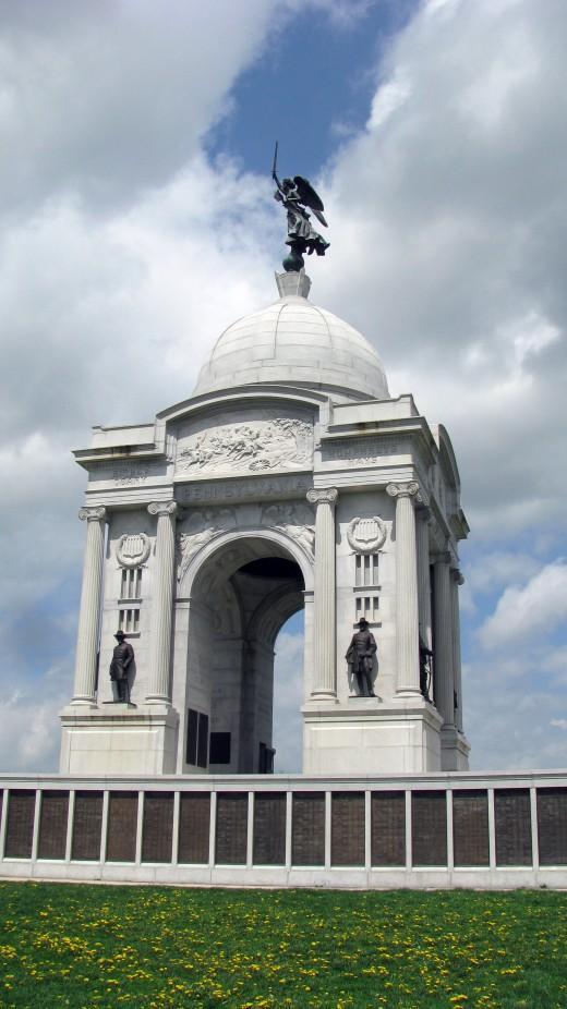 Pennsylvania Monument at Gettysburg