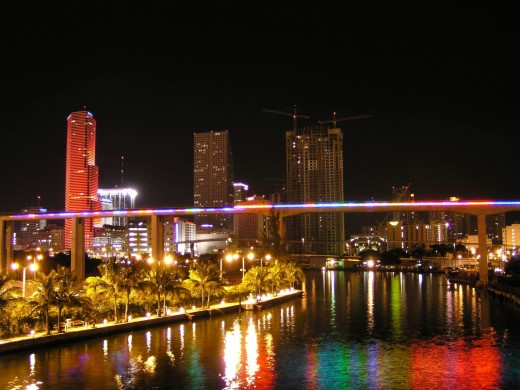 Miami and all its constant color.