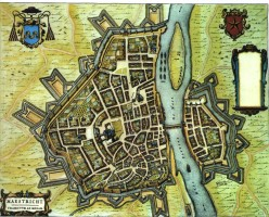 Maastricht, 'Dutch city maps', edited by Willem and Joan Blaeu, 1652
