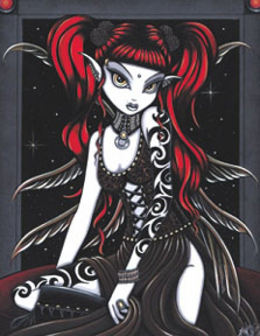Gothic Fairy By: Jade Penguin