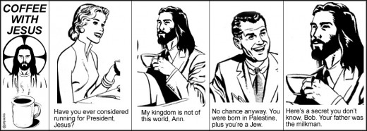 Comic of Coffee with Jesus