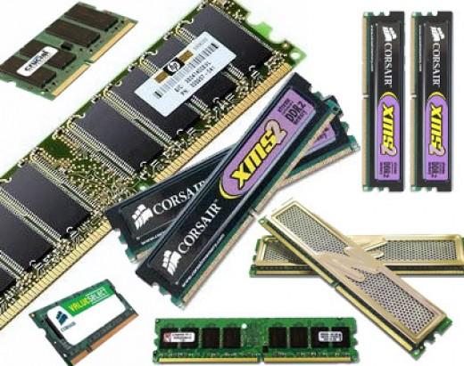 RAM (Rabdom Access Memory)