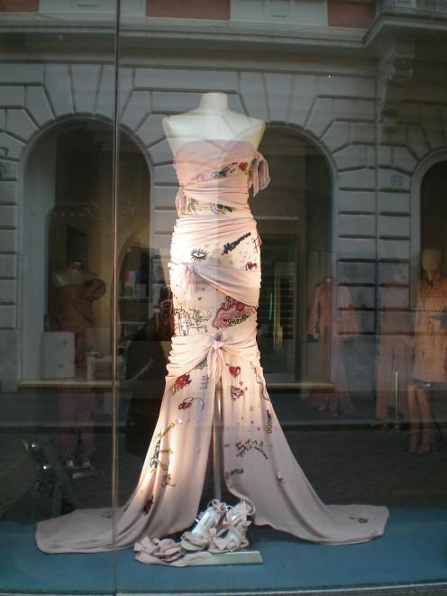 Fashion along the Via Veneto (c) Anne Harrison