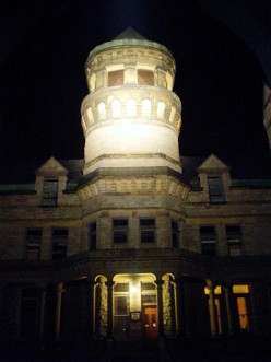 Haunted Ohio State Reformatory in Mansfield