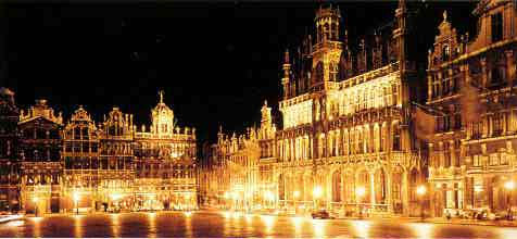 The Grand'Place, Brussels