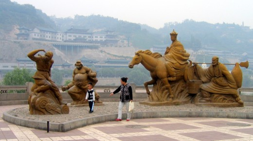 A tribute in Lanzhou
