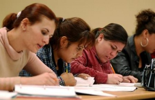 Take the IELTS exam!