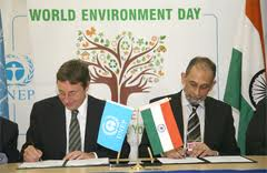 India hosts the World Environment day celebration