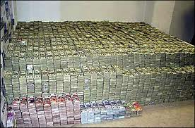 Ever wonder what 80 million dollars would look like?