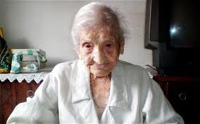 MARIA GOMES VALENTIM who was born July 9, 1896  died on June 21, 2011.