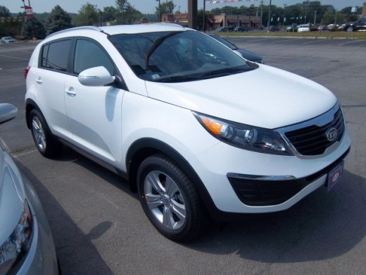 We test drove a 2011 Kia Sportage today.  We, however, did not buy it.