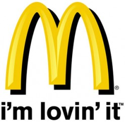 American McDonalds and the case of the fat fingers.