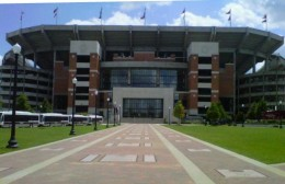 Tuscaloosa AL, home of the University of Alabama