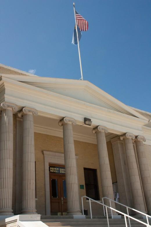 Lovelock, Nevada courthouse