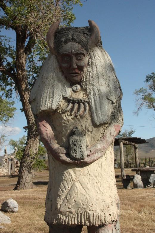 Thunderhead Mountain Indian Memorial
