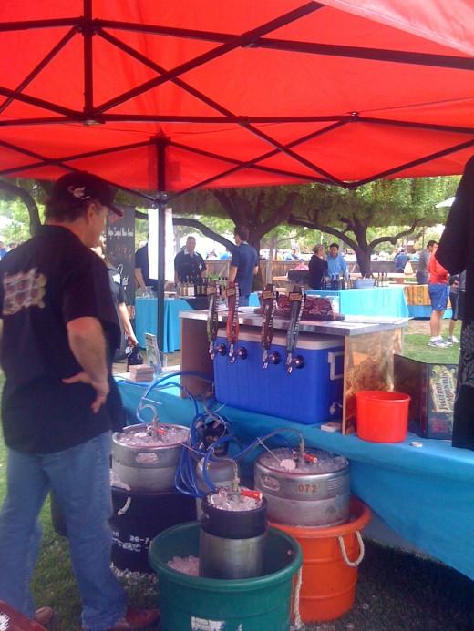 Beer tasting, too!