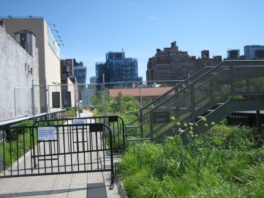 Phase 2 of the High Line is ready to welcome visitors in June 2011
