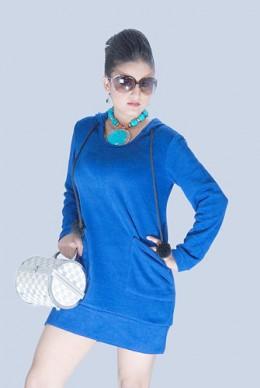 Rekha Thapa in a stylish look