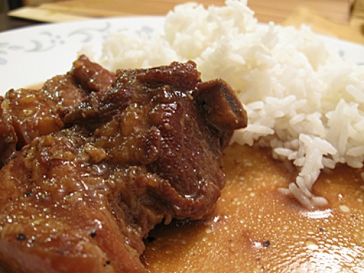 Filipino Pork Adobo with a Twist