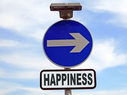 There's your road to happiness