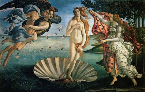 The Birth of Venus by Boticelli