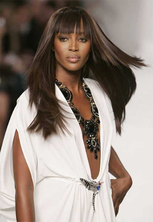 Naomi Campbell is one of the world's most recognized supermodels.