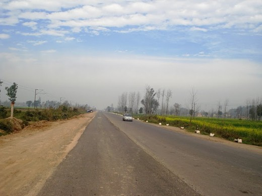 A trip to Dharamashala by road will be the most amazing experience of your life - right when the hills will start - it will be time to take out your digicam.