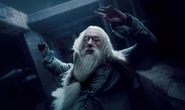 The death of Dumbledore in The Half-Blood Prince