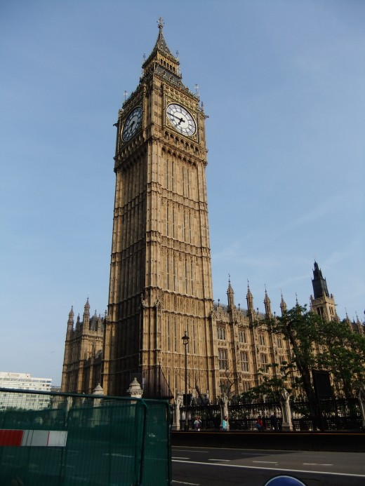 My only decent photo of Big Ben