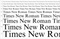 The End of Times New Roman: Font as a Writer
