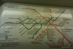 Maps of the colorful T system - including the green, red, orange, blue, and silver lines - can be found in stations and on the trains to help you find your way around.