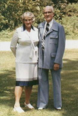 Grandma & Grandpa Major