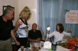 Patsy's birthday party at my house