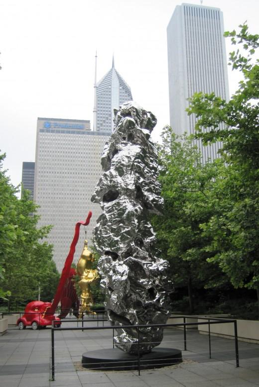Jia Shan Shi No.46, 2001 by Zhan Wang
