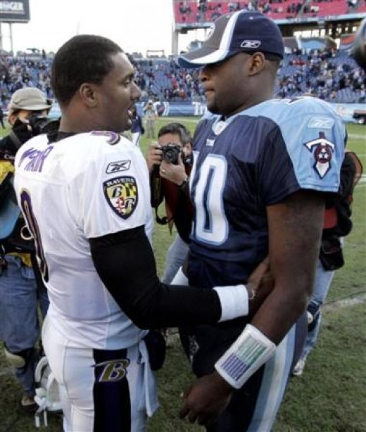 Steve McNair and Vince Young