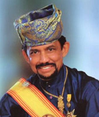 The Sultan of Brunei. Image from the Brunei Student society