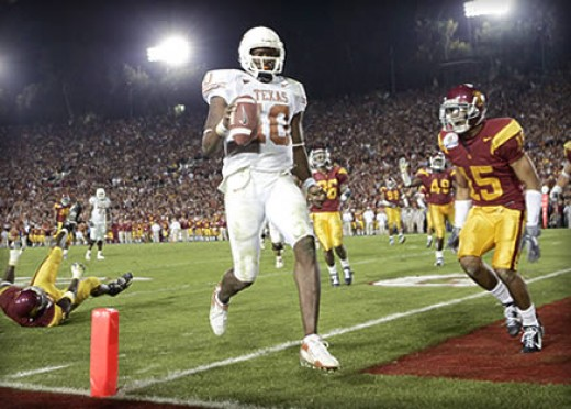 Vince Young and the Rose Bowl Dash