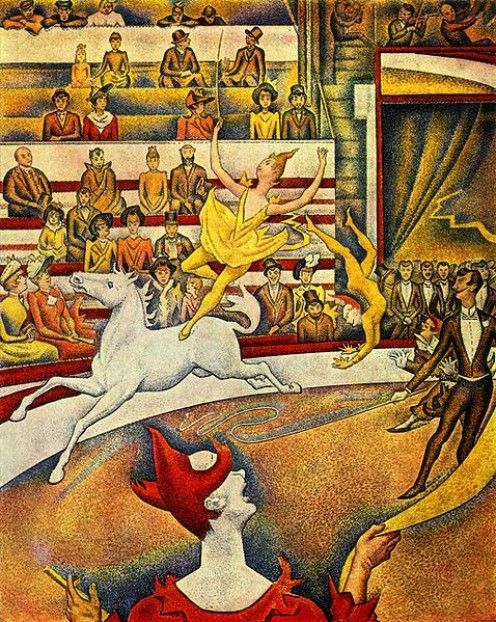 The Circus, by Georges Seurat in 1891.